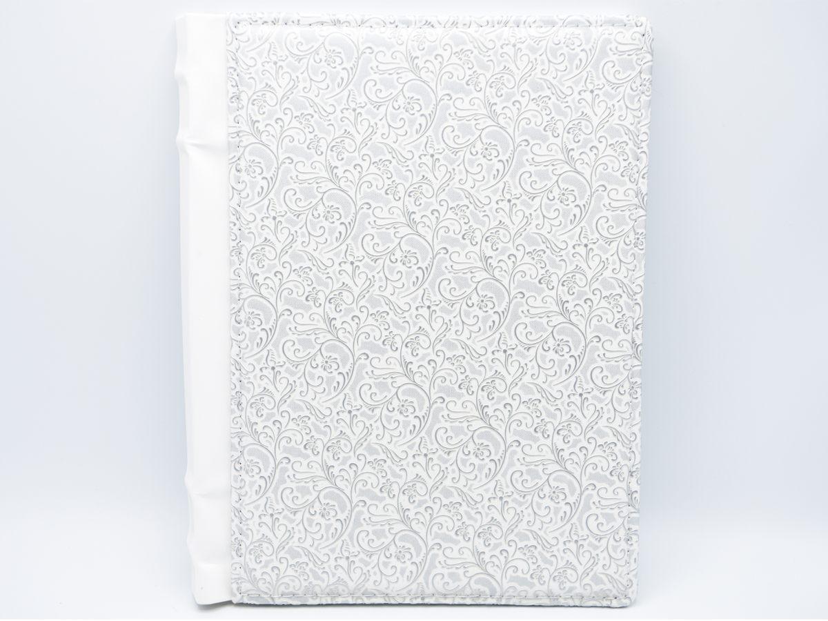 Coperta alba arabesque